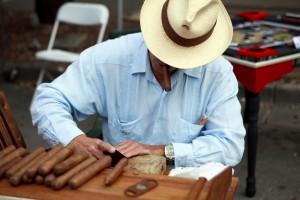 Cutting a Cigar