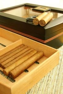 cigar humidor aging