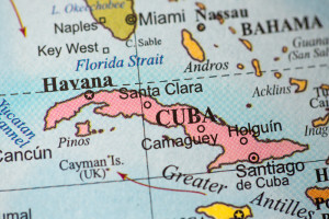 Map of cuba cigar tour